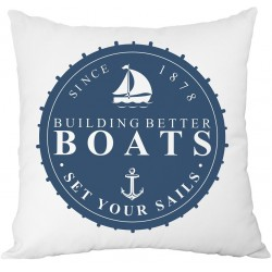 Cushion - Marine print 2 - French Home