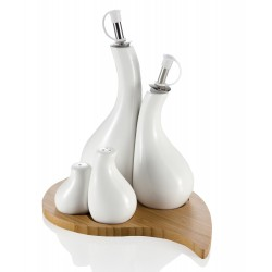 Porcelain Table Cruet Set - Brandani