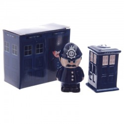 Policeman & Police - Salt & Pepper Set