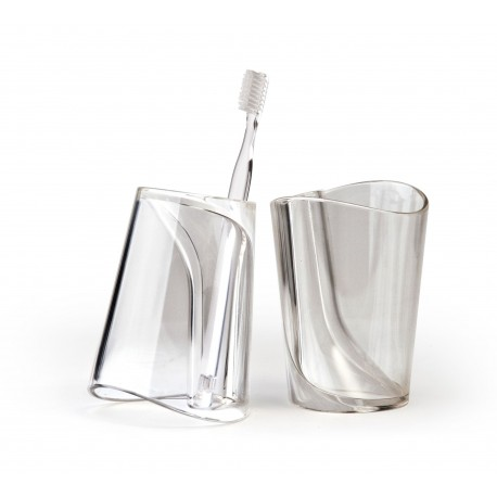Flip Cup - Toothbrush holder / Water Cup - Qualy