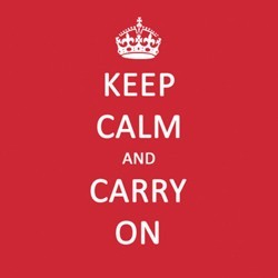 Napkins - Keep Calm and Carry On - PPD