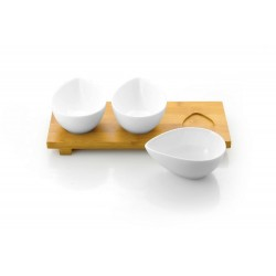 Vilagio Serving dish set with tray no 8801 - Vialli Design