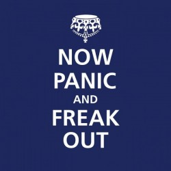 Cocktail Napkins - Now Panic and Freak Out - PPD