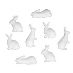 Bunny - Memo Magnets - The Zoo