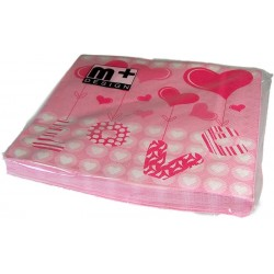 Napkins - Love & Hearts - m+ Design