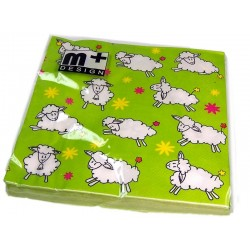 Napkins - Easter Lambs - m+ Design