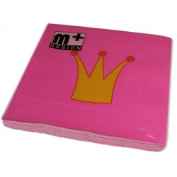 Napkins - Crowns - m+ Design