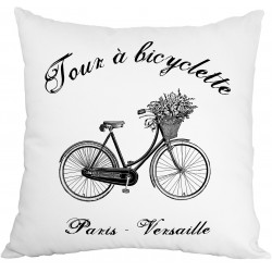 Cushion - Bicyclette - French Home